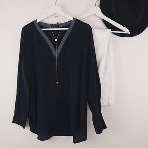 E I L E E N Fisher • Luxury Silk Blouse